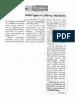 Bandera, Jan. 27, 2020, Special attention ibibigay sa batang nasalanta.pdf