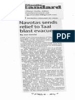 Manila Standard, Jan. 27, 2020, Navotas sends relief to Taal blast evacuees.pdf