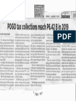 Philippine Star, Jan. 27, 2020, POGO tax collections reach P6.42 B in 2019.pdf
