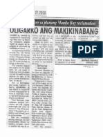 Saksi Ngayon, Jan. 27, 2020, Babala ng solon sa planong Manila Bay reclamation Oligario ang makikinabang.pdf