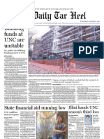 The Daily Tar Heel for December 1, 2010