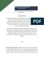 GLOSARIO DE TÉRMINOS, CIENCIA CURATIVA GERMÁNICA