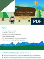MC IP Warming Guide