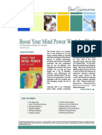Boost Your Mind Power