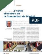 Hongos y Silvestres en la Comunidad de Madrid