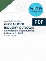 Wine Intelligence Global Wine Industry Outlook 2019