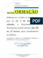 INFORM-ATENDIMENTO AO PÚBLICO