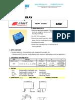 SRD-5VDC-SL-C Relay Datasheet