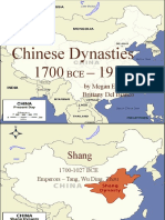 Chinese Dynasties Power Point