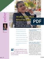 """Maria Dolores Rego, """"Lola"""", es la nueva presidenta de la Conferencia de jóvenes santa Catalina Labouré."""