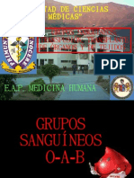 GRUPO SANGUNEO
