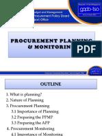 02 Proc Planning & Monitoring.09162016