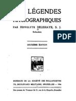 H. Delehaye, Les Légendes hagiographiques, Bruxelles 1906