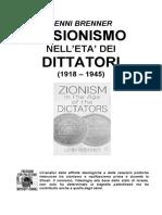 Lenni Brenner Il Sionismo Nell'Eta' Dei Dittatori (1918 – 1945)