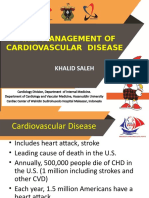 EARLY MANAGEMENT OF CVD