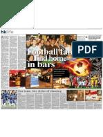 Football Fans in Hong Kong