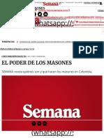 EL PODER DE LOS MASONES