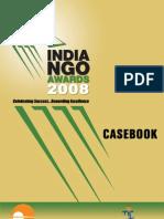 India NGO Awards 2008 Casebook