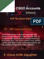 Shop CSGO Accounts