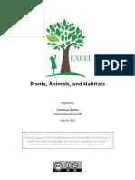 Second Grade Plants, Animals and Habitats PDF