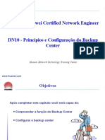 DN10_Backup_Center Princípios e Configuração