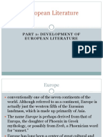 50668203-European-Literature.ppt