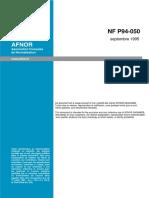 NF P 94-050 teneur en eau sol