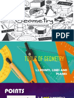 Tools of geometry