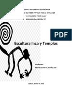 ESCULTURA INCA Y TEMPLOS