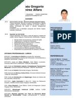 CV Moisés Ramírez Alfaro