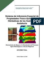 Sistema de Inferencia Espacial de Propiedades de los Suelos de Andalucia