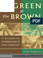 The Green and the Brown A History of Conservation in Nazi Germany