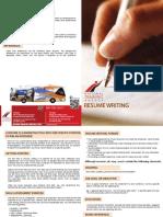 Resume Writing Brochure information  Updated 2016