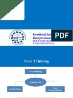 Emotional Intelligence and Interpersonal Communication