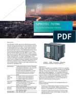 SIPROTEC 7UT86 Profile (1)