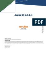 ArubaOS 6.5.0.4 Release Notes