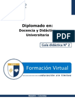 Guia Didactica 2-Docencia Universitaria