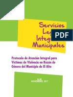 Protocolo de atención El Alto La Paz