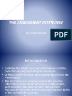 THE ASSESSMENT INTERVIEW.pptx