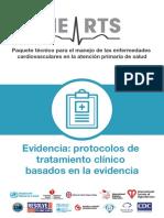 Evidencia- protocolos de tratamiento clínico basados en la evidencia