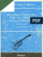 Ferdinando Carulli - Metodo Completo Per Lo Studio Della Chitarra
