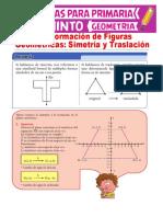 Fichas de trabajo - Simetria y traslacion