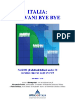 Rapporto Manageritalia Giovani Bye Bye Novembre 2010