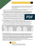 CURA Solar Fact Sheet - 1-22-20