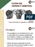 FORMACION DE PARADIGMAS Y HABITOS