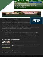 Minas Brasília Tenis Clube Churrasqueiras e Bares - Minas Brasília Tenis Clube
