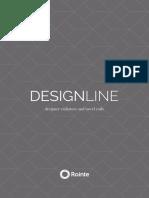 202001 Rointe Catálogo Radiadores Designline Acabados Especiales Ctrdl19v1-Es
