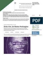 Evita vive - Néstor Perlongher