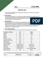 Gas Composition requirements GMS9000
