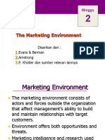 Minggu 2_Lingkungan Pemasaran